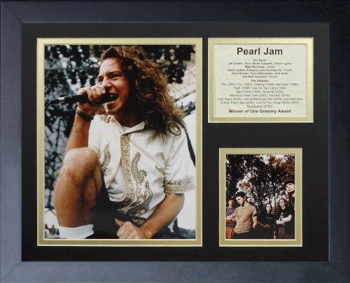 Legends Never Die Pearl Jam Framed Photo Collage, 11x14-Inch