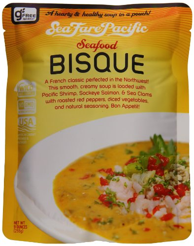 Sea Fare Pacific Seafood Bisque, 9 Ounce (Pack of 8)