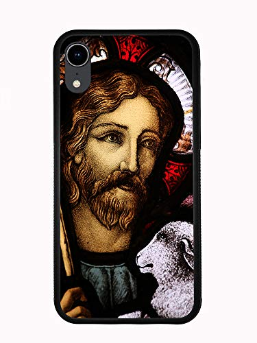 Jesus Christ Holding A Lamb for iPhone XR 6.1 2018 Case Cover by Atomic Market ()