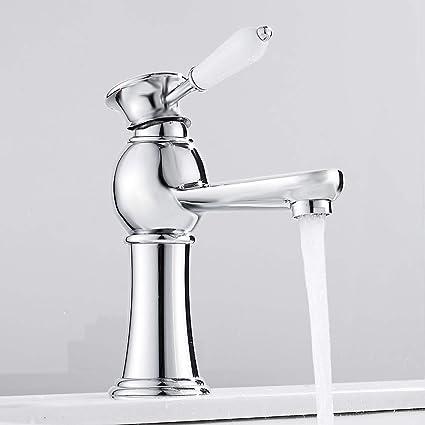 New Luxury Bathroom Kitchen in Chrome Basin Modern Sink Mono Bath Taps Mixer Tap Home, Furniture & DIY Bathroom Taps