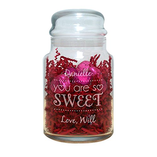 Personalized You Are Sweet Treat Jar, 31 oz.