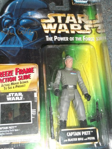 Star Wars Power of the Force Captain Piett Figure Autographed by Kenneth Colley