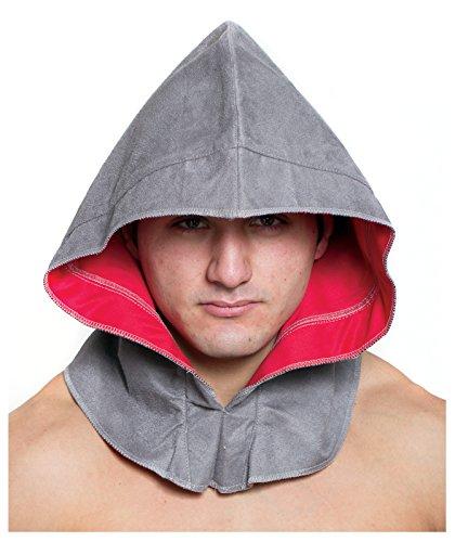 Largemouth Men's Assassin Costume Hood (Gray) -
