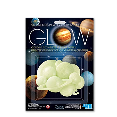 Children's Room Decoration: Glow-In-The-Dark 3-D Solar System by 4M