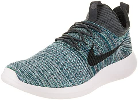 premium selection edfd5 6cf94 Nike Men's Roshe Two Flyknit V2 Green Abyss/Mica Blue ...