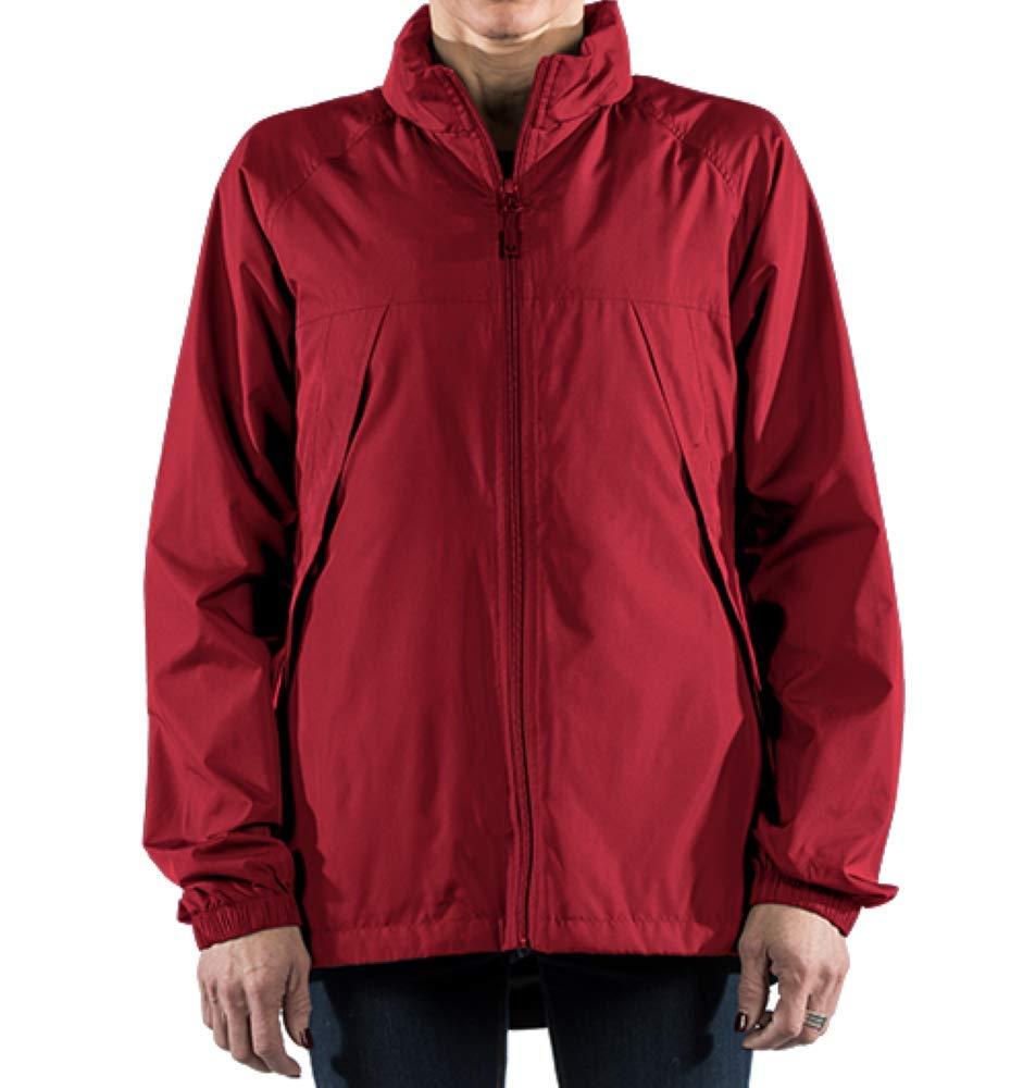 SCOTTeVEST Womens Pack Windbreaker Jacket - Spring Jackets for Women 19 Pockets RED S by SCOTTeVEST