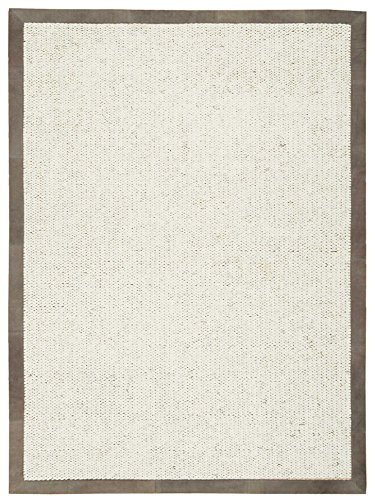 - Calvin Klein Home LUC01 Solid Modern/Contemporary Este Area Rug, 5'6