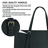 Laptop Bag for Women Waterproof Lightweight Leather