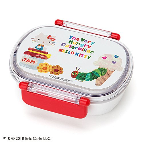 Sanrio Hello Kitty × The Very Hungry Caterpillar lunch box DXS Suites From Japan New by SANRIO
