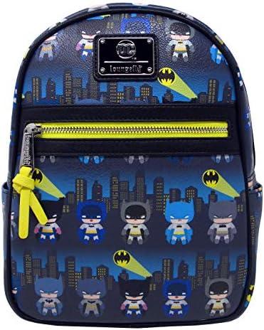 Loungefly x Batman 80th Anniversary Gotham City Chibi Mini Backpack
