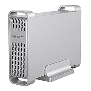 Amazon.com: yottamaster Type-C Hard Drive Enclosure de 2,5 ...
