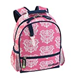 KidKraft Damask Backpack, 11 x 4.5 x 13/Small