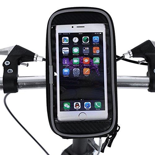 Alforja Bolso Funda Móvil De Bici Bolso De TelÃfono Doble Delantero Para IPhone Samsung TelÃfono Celular Móvil Para...