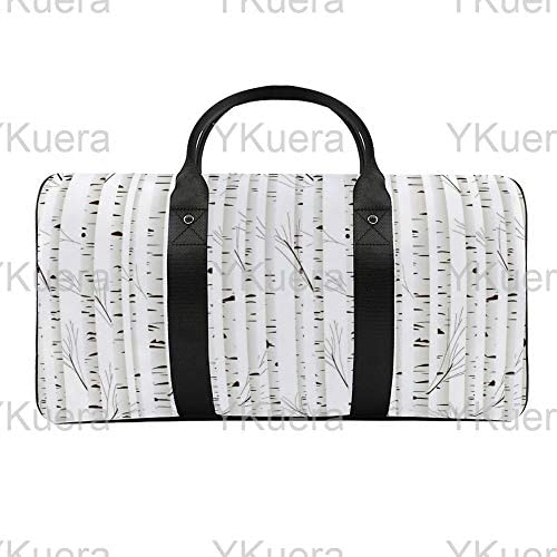 白irの背景1 旅行バッグナイロンハンドバッグ大容量軽量多機能荷物ポーチフィットネスバッグユニセックス旅行ビジネス通勤旅行スーツケースポーチ収納バッグ