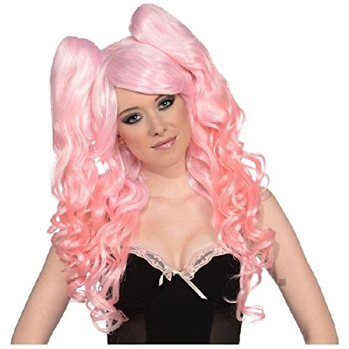 (Ponies Set Long Wig Costume Accessory Adult)