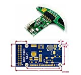 CQRobot USB High-Speed PHY Device for ULPI Interface, USB3300 USB HS Board Features the USB3300, MIC2075-1BM.