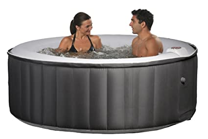 Amazon.com: Nadar Tiempo – Spa hinchable portátil, color ...