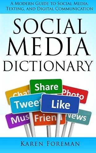 social media dictionary a modern guide to social media texting rh amazon com Community Smart Community Smart