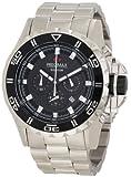 Precimax Men's PX12201 Carbon Pro Black Dial Watch, Watch Central