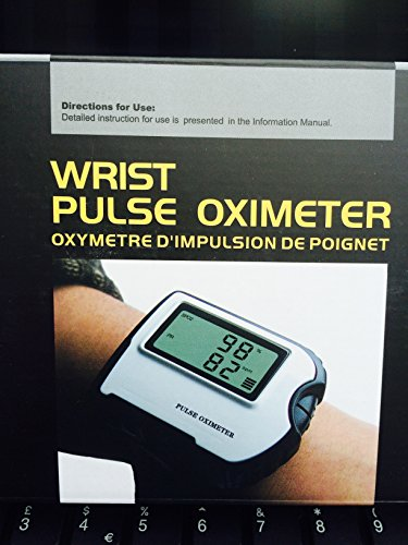 Sports and Aviation Sleep Monitor Wrist Wear Fingrtip Pulse Rate and Blood Oxygen Saturation Monitor