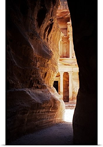 Great Big Canvas Poster Print entitled Petra, Jordan