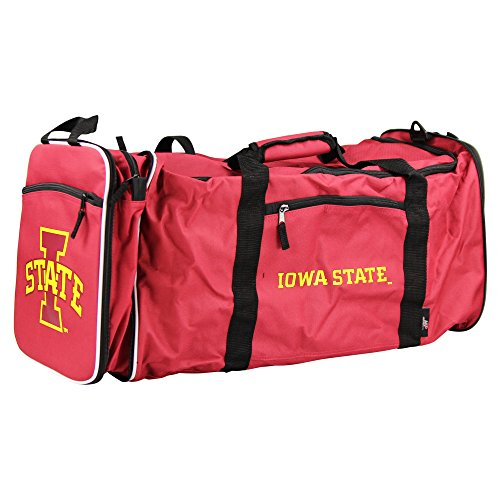 (NCAA Team Logo Extended Duffle Bag (Iowa State Cyclones) )