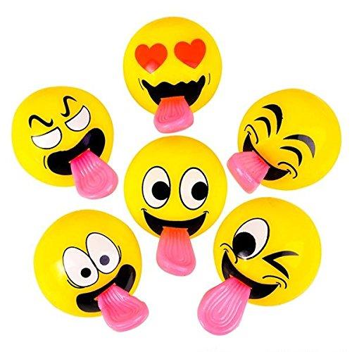 Emoji Stretch Tongue Sling Shot Balls 2