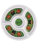 Bethany Lowe Designs Halloween Sassy Cat andDip Platter