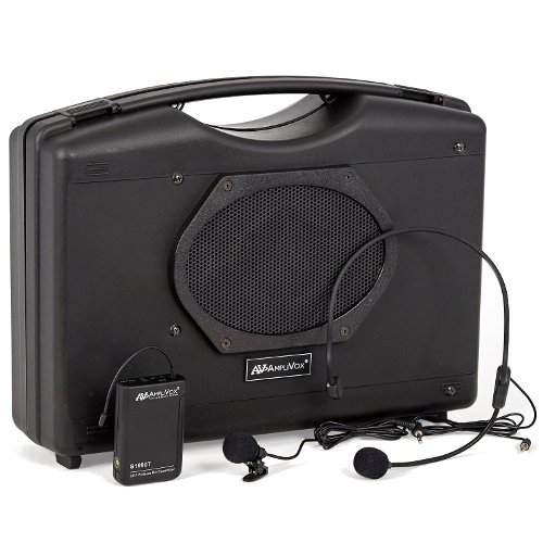 Amplivox SW222A Wireless Hands-Free Audio Portable Buddy with Bluetooth System