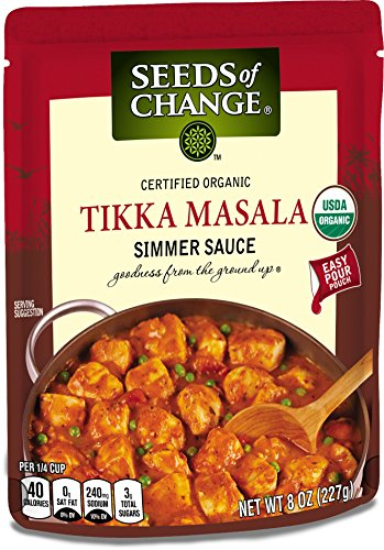 SEEDS OF CHANGE Tikka Masala Simmer Sauce (6pk)