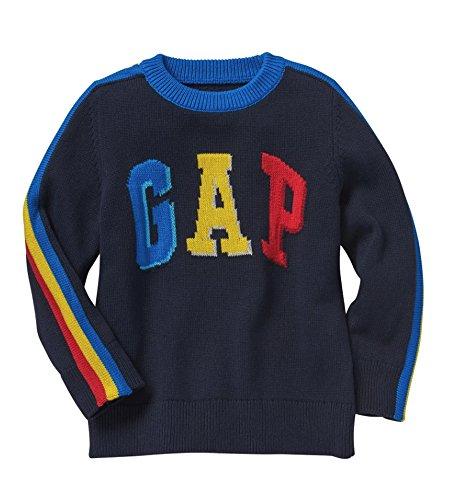 GAP Baby Boys Intarsia Logo Sweater (3 Years)