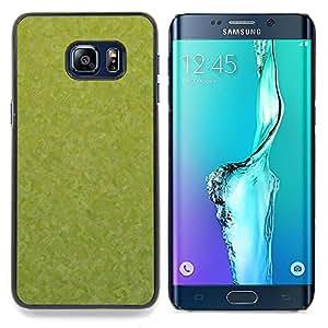 "For Samsung Galaxy S6 Edge Plus / S6 Edge+ G928 , S-type Textura verde"" - Arte & diseño plástico duro Fundas Cover Cubre Hard Case Cover"