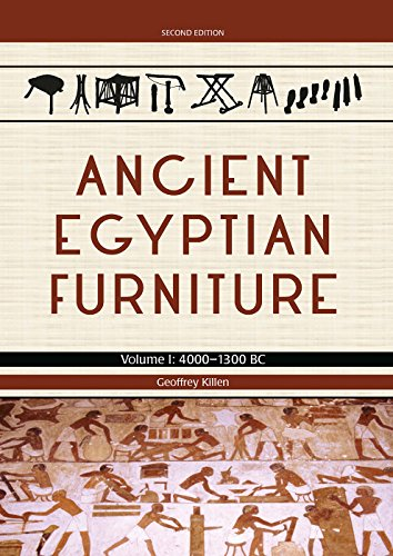Ancient Egyptian Furniture. Volume I: 4000 - 1300 (Ancient Egyptian Furniture)