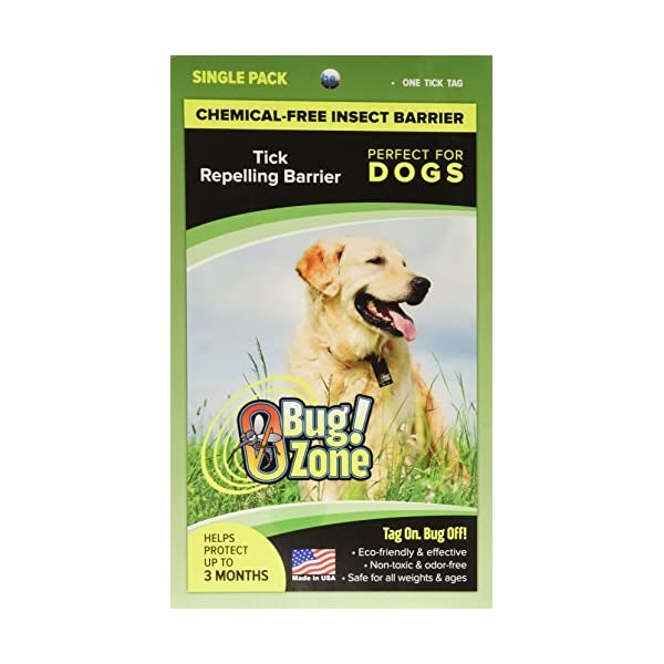 0Bug!Zone Dog Tick Barrier Tag, Single Pack Click on image for further info.