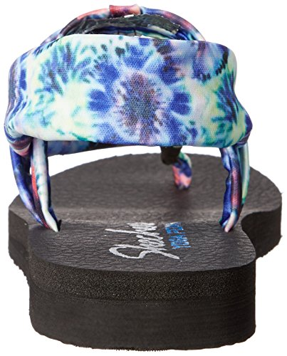 Women's Blue Kicks Sport Sandals STUDIO MEDITATION Dye Tie Skechers UxAfdwPP