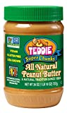 Teddie All Natural Peanut Butter, Super Chunky, 26-Ounce Jar (Pack of 3) For Sale