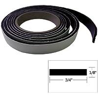 TACO METALS V30-0744B8-2 / TACO Hatch Tape 8L x ⅛H x ¾W - Black