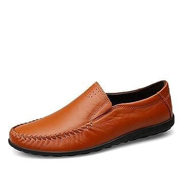 Qzny Zapatos de Cuero para Hombres 2018 Zapatos de otoño nuevos para Hombres Zapatos de Cuero