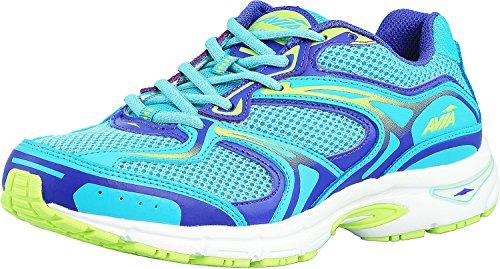 Zapatillas De Running Avia Hombres Avi-endeavor Light Blue / Purple / Lime