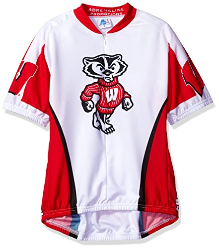 Wisconsin Cycling Jersey - NCAA Women's Wisconsin Badgers Cycling Jersey, Large, Red