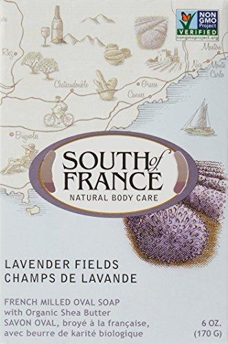 SOUTH OF FRANCE Lavender Fields Bar Soap, 0.02 Pound