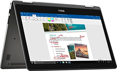 Dell Inspiron 2-in-1 I7378-7571GRY-PUS - 13.3' FHD Touch - 7th Gen Intel Core i7-7500U - 12GB - 256GB Solid State Drive - Silver