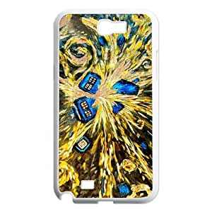 Doctor Who Van Gogh's Exploding Tardis Type New Design Back Case Cover for Samsung galaxy Note 2 N7100