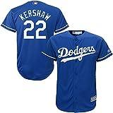 Majestic Clayton Kershaw Los Angeles Dodgers MLB Infants Blue Alternate Cool Base Replica Jersey