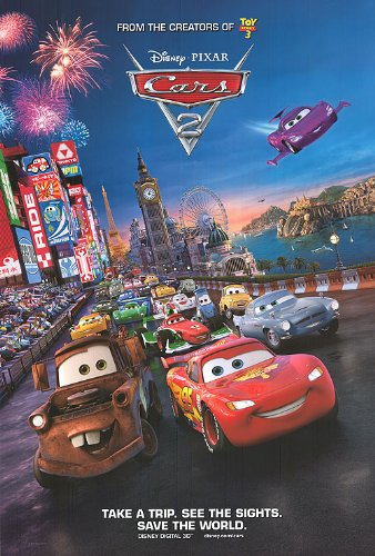 Image result for cars 2 poster