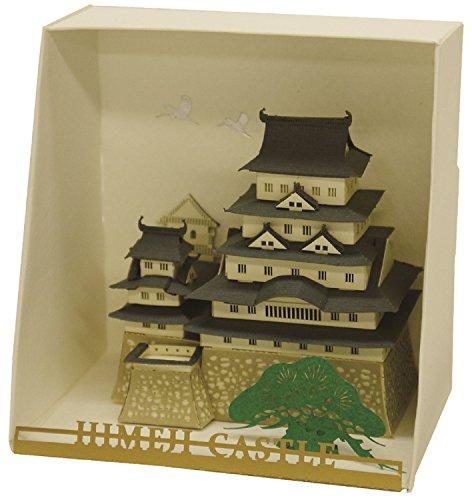 Cherry Laser Paper - Paper Nano Himeji Castle Building Kit