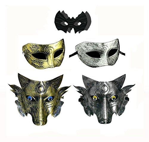 Cosplay Wolf Costume Mask Full Face Mask for Men Women -