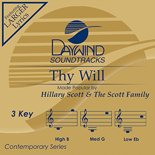 Thy Will Album Cover