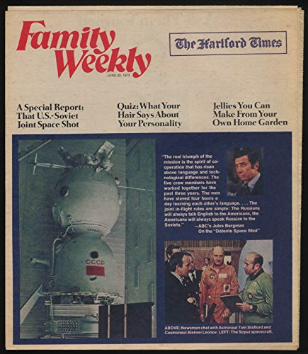 FAMILY WEEKLY 6/22 1975 Apollo-Soyuz; Gordon Lightfoot Doc Medich