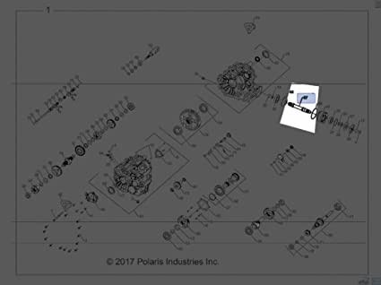 Polaris 2016-2018 Rzr Xp4 Turbo Intl Rzr Xp4 Turbo Shaft Front Output 3235815 New